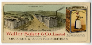 Baker's Chocolate in the Industrial Revolution