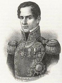 The General, Lithograph, 1852