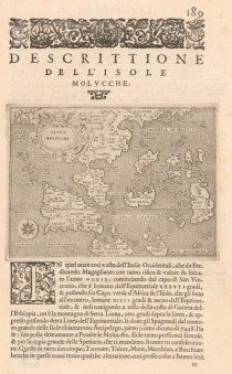 Spice Island Map of 1576