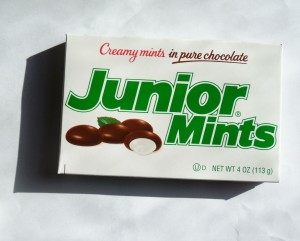 Junior Mints - Miniture Chocolate Coated Peppermint Candy