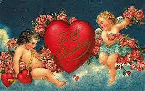 Vintage Valentine's Day Card - The History of the Heart